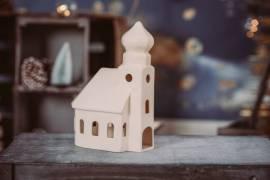 Barockkirche -Weiße Edition- - Bild vergrößern